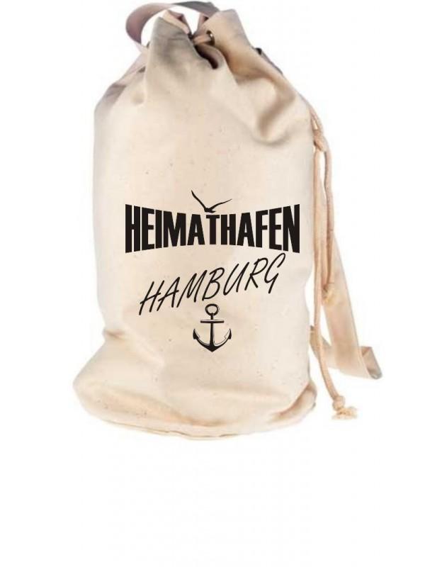 Seesack Heimathafen Hamburg
