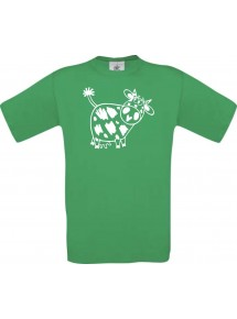 Cooles Kinder-Shirt Funny Tiere Kuh