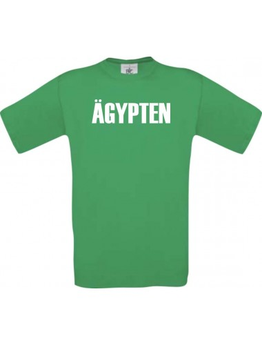 Kinder T-Shirt Fußball Ländershirt Ägypten, kelly, 104