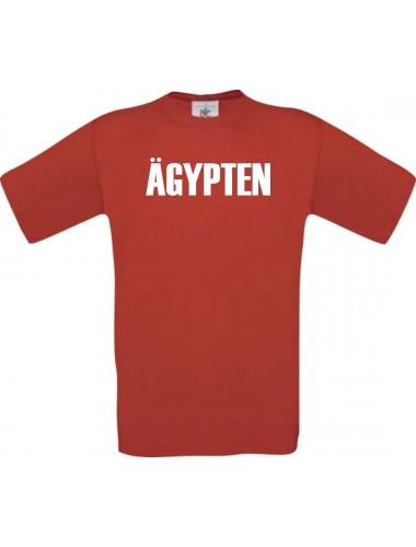 Kinder T-Shirt Fußball Ländershirt Ägypten, rot, 104