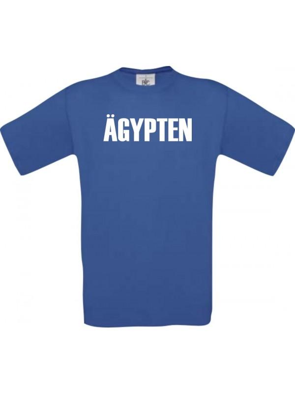 Kinder T-Shirt Fußball Ländershirt Ägypten, royal, 104