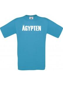 Kinder T-Shirt Fußball Ländershirt Ägypten, türkis, 104