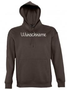 Kapuzen Sweatshirt individuell mit Ihrem Wunschtext versehen kult, XS-XXL