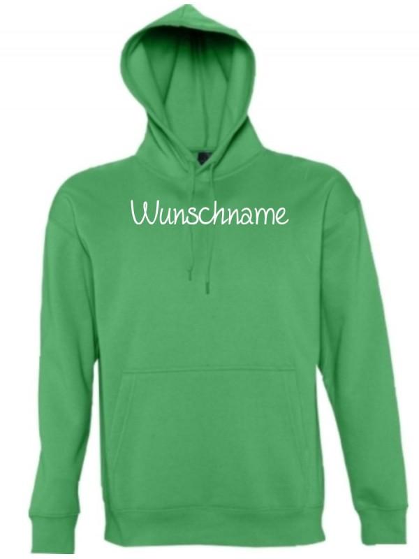 Kapuzen Sweatshirt individuell mit Ihrem Wunschtext versehen kult, kelly, L
