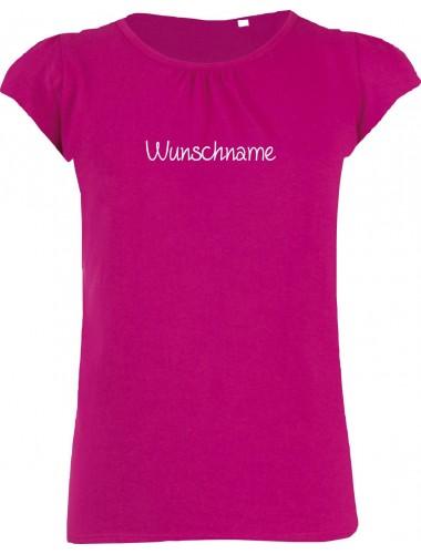 süßes Mädchenshirt mit deinem Wunschtext versehen