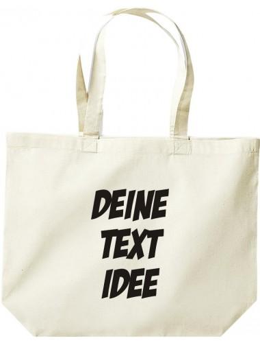 Shopper, Einkaufstasche, mit Ihrem Wunschtext oder Logo versehen