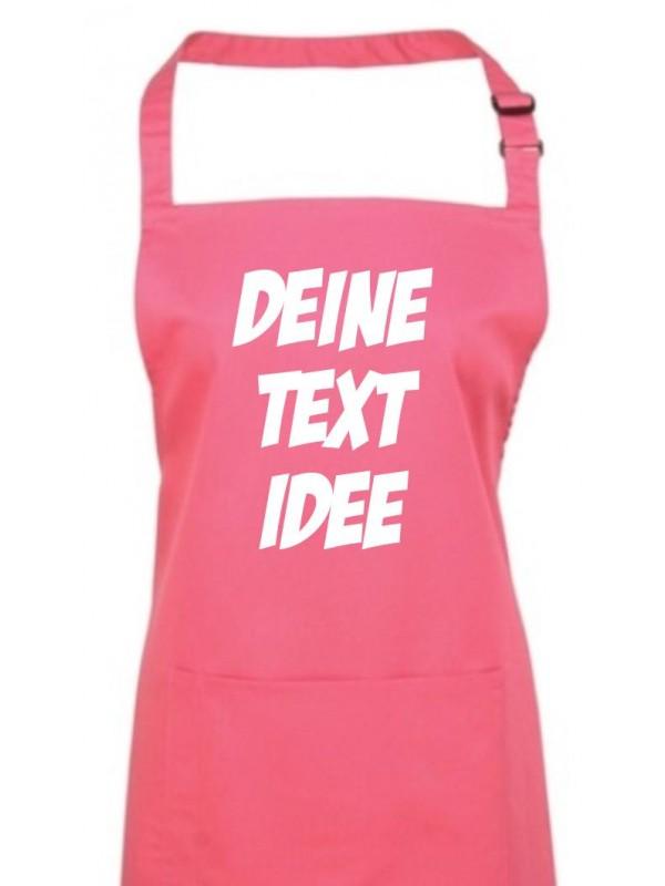 Back Koch Schürze, mit deinem Wunsch Text, Logo oder Motive bedruckt