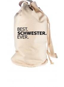Rucksack Seesack , BEST SCHWESTER EVER
