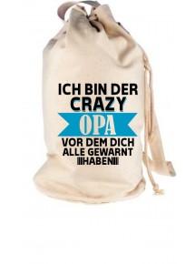 Rucksack Seesack Ich Bin der Crazy Opa vor dem
