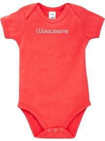 Baby Body individuell mit deinem Wunschtext versehen, Größe3-24 Monate