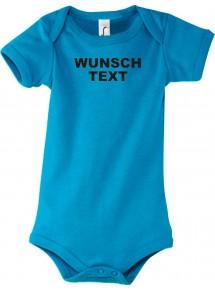 Baby Body mit deinem Wunschtext Logo versehen, Größe3-24 Monate
