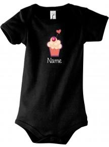 Baby Body mit tollen Motiven inkl Ihrem Wunschnamen Muffin
