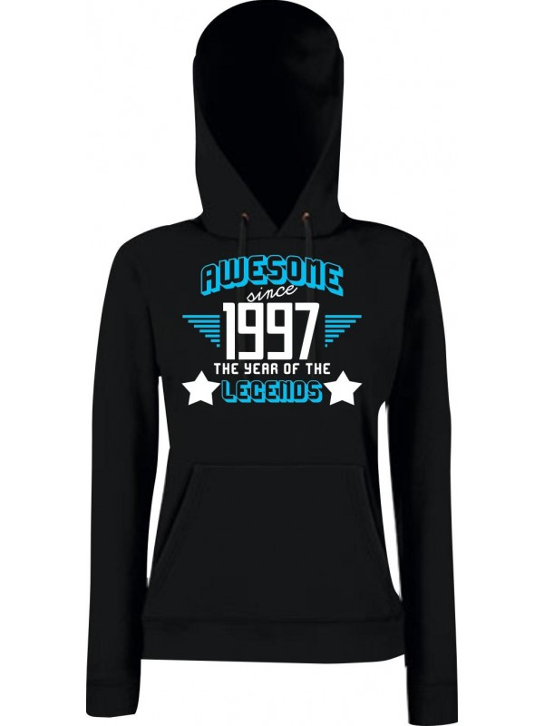 Lady Kapuzensweatshirt Awesome since 1997 the Year of the Legends
