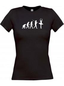 Lady T-Shirt  Evolution Ballerina, Ballett, Balletttänzer/in