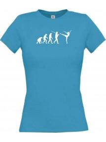 Lady T-Shirt  Evolution Ballerina, Ballett, Balletttänzer/in, Sport