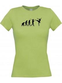Lady T-Shirt  Evolution Ballerina, Ballett, Balletttänzer/in, Team
