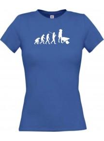 Lady T-Shirt  Evolution Schubkarre, Gartenarbeit
