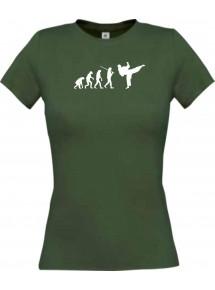 Lady T-Shirt  Evolution Karate, Judo, Selbstverteidigung, Sport