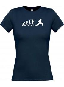 Lady T-Shirt  Evolution Karate, Judo, Selbstverteidigung, Hobby