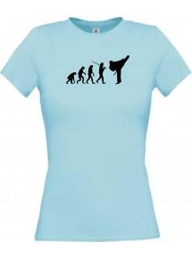 Lady T-Shirt  Evolution Karate, Judo, Selbstverteidigung, Verein