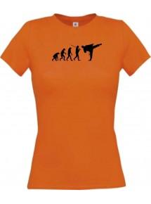 Lady T-Shirt  Evolution Karate, Judo, Selbstverteidigung, Sieg