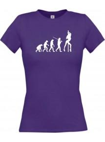 Lady T-Shirt  Evolution Sexy Girl Tabledance