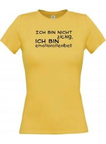 Lady T-Shirt lustige Sprüche ich bin nicht zickig,