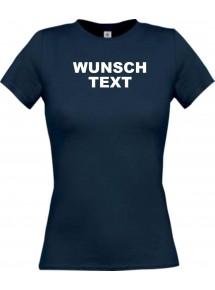 Lady Shirt mit Ihrem Wunschtext, Logo oder Motive individuell bedruckt