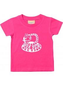 Kinder T-Shirt  Funny Tiere Schlange Snake