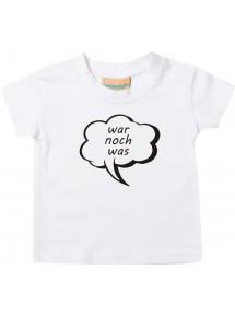Kinder T-Shirt Sprechblase war noch was