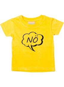 Kinder T-Shirt Sprechblase Nö