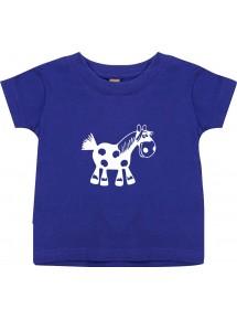 Kinder T-Shirt  Funny Tiere Pferd Pony