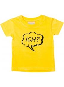 Kinder T-Shirt Sprechblase Ich