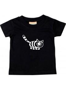 Kinder T-Shirt  Funny Tiere Katze
