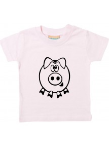 Kinder T-Shirt  Funny Tiere Schwein Eber Sau