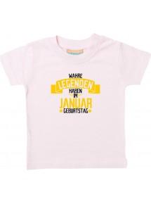 Kinder T-Shirt  Wahre LEGENDEN haben im JANUAR Geburtstag