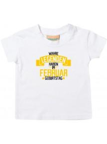 Kinder T-Shirt  Wahre LEGENDEN haben im FEBRUAR Geburtstag
