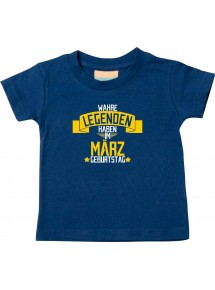 Kinder T-Shirt  Wahre LEGENDEN haben im MÄRZ Geburtstag