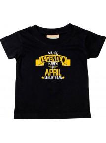 Kinder T-Shirt  Wahre LEGENDEN haben im APRIL Geburtstag