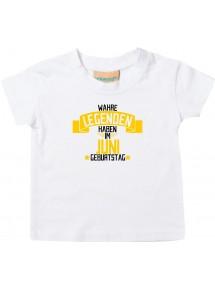 Kinder T-Shirt  Wahre LEGENDEN haben im JUNI Geburtstag