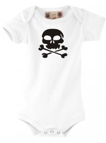 Baby Body Totenkopf Schädel Skull Tattoo