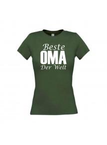 Lady T-Shirt, Beste Oma der Welt,