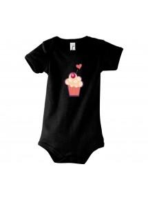 Baby Body mit tollen Motiven Muffin