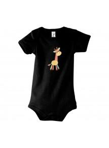 Baby Body mit tollen Motiven Giraffe
