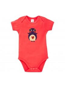 Baby Body mit tollen Motiven Pinguin