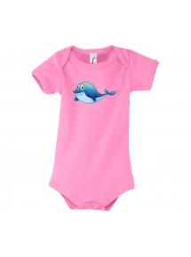 Baby Body mit tollen Motiven Delfin