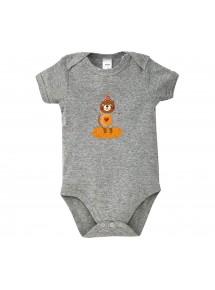 Baby Body mit tollen Motiven Bär