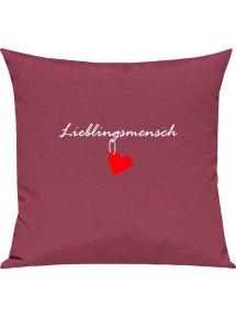 Sofa Kissen Herz Lieblingsmensch