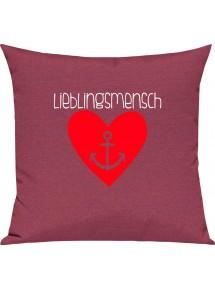 Sofa Kissen Liebe Herz Anker Lieblingsmensch