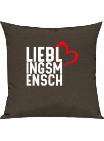 Sofa Kissen Lieblingsmensch zum verlieben